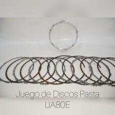 Juego de Disco Pasta TOYOTA UA80E